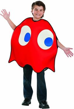 PAC-MAN VIDEO GAME CHILD BLINKY COSTUME RED GHOST TUNIC BOYS