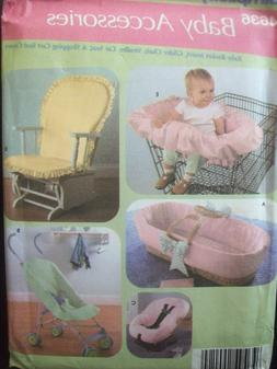 Simplicity Pattern 4636 Baby Accessories Fabric Covers Uncut