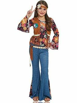 Franco American Novelty Company Peace Out Hippie Kids Costum