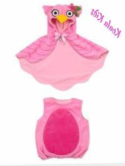 KOALA KIDS Pink Little Owl Halloween Costume - Dress up Size