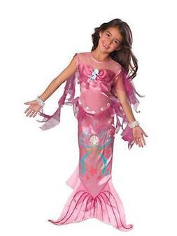 Pink Mermaid Child Girls Costume Size Small 4-6