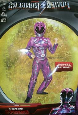 Power Rangers Pink Ranger Child Kids Girls Halloween Costume