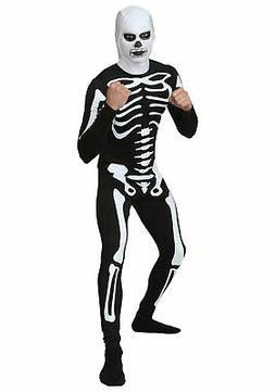 Plus Size Karate Kid Skeleton Suit