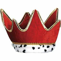 Plush Royal Crown  Party Accessory