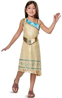 Pocahontas Deluxe Disney Native American Fancy Dress Up Hall