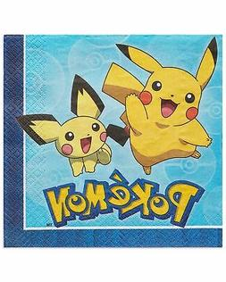 American Greetings Pokemon Lunch Napkins, 16-Count