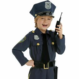Amscan Police Officer Kids Child Cop Costume - 4 Piece Missi