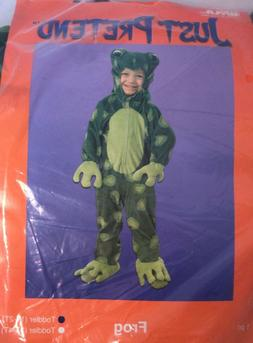 Just Pretend Kids Pond Frog Animal Costume, Small - 1T - 2T