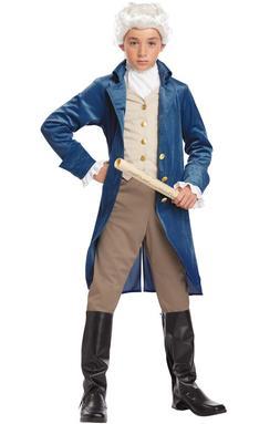 President Hamilton George Washington Thomas Jefferson Coloni