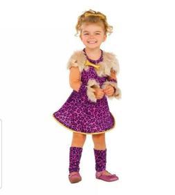Pretty in Pink Cavegirl Child Costume Small 4 - 6 Rubie's Co