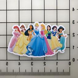 "Disney Princess 5"" Wide Vinyl Decal Sticker BOGO"