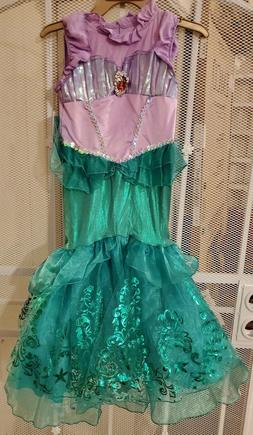 Disney Princess Ariel Child Girls Kids Halloween Costume Dre
