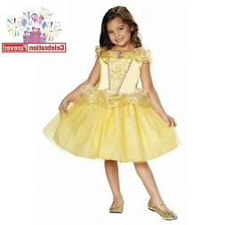 "Disney Princess ""BELLE"" Girl Child Dress Costume Beauty and"