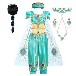 Princess <font><b>Jasmine</b></font> Clothing Set for Girl T
