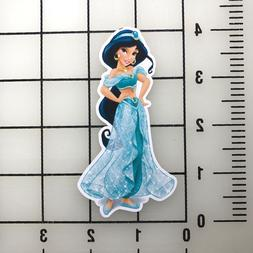 "Disney Princess Jasmine 4"" Tall Vinyl Decal Sticker BOGO"