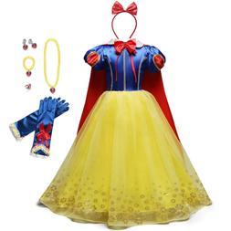 YOFEEL Princess Snow White <font><b>Dress</b></font> <font><