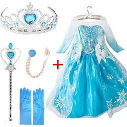 Queen Elsa <font><b>Dresses</b></font> Elsa Elza <font><b>Co