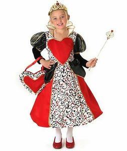 queen of hearts kids costume