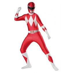 Red Ranger Deluxe Bodysuit Kids Costume Power Rangers Hallow