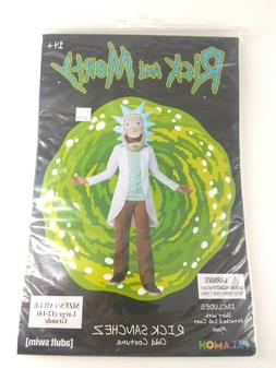 Rick SHIRT ONLY Rick and Morty New Amscan Halloween costume