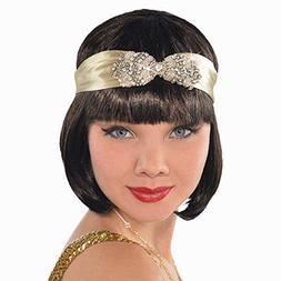 Amscan Girls Roaring '20s Costume Party Flapper Headband , G