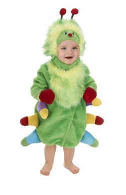 Just Pretend Kids Infant Romper, 6-12 Months, Caterpillar