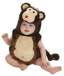 Just Pretend Kids Infant Romper, 0-6 Months, Monkey