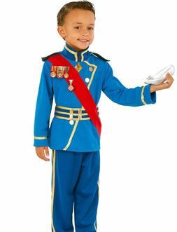 Royal Prince Charming Costume Boys Child King Medieval S 4-6