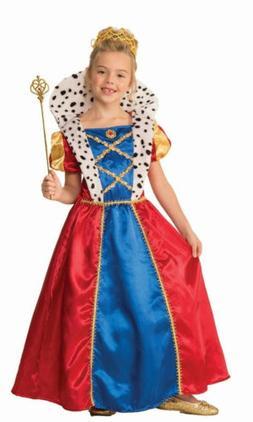 Girls Royal Queen Costume