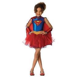 Morris Costume RU881627SM Supergirl Tutu Child Costume Small