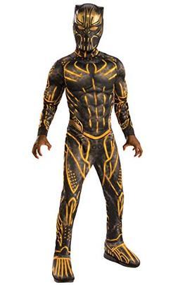 Rubie's Child's Deluxe Black Panther Movie Erik Killmonger C