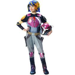 Rubie's Costume Co Star Wars Rebels Sabine Deluxe Child Cost
