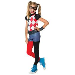 Rubie's Costume Kids DC Superhero Girls Harley Quinn Costume
