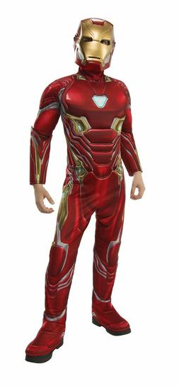 Rubie's Deluxe Lightup Iron Man Child Costume Suite & Mask