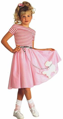 rubie s nifty fifties child s costume
