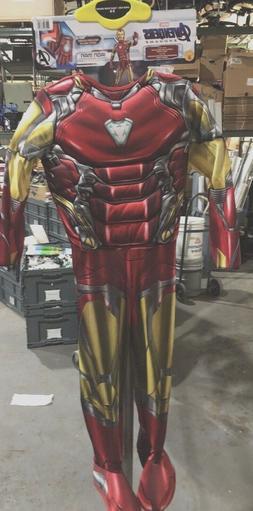 Rubies Avengers Endgame Iron Man Child Costume Sz 5-6 Jumpsu
