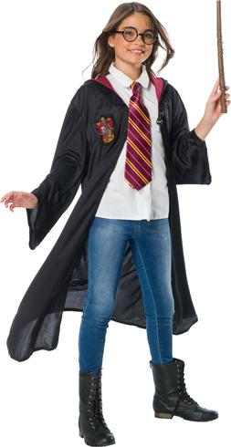 Rubies Harry Potter Costume Robe Cloak Cape w/Tie+Wand for K