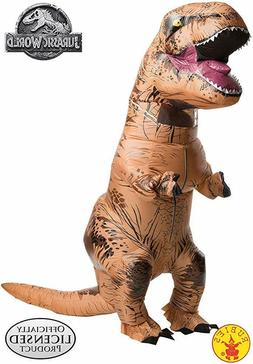 rubies jurassic world t rex inflatable costume