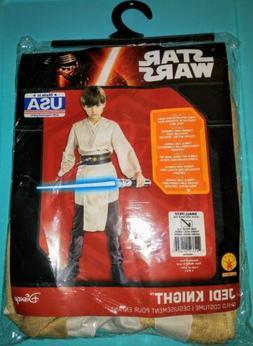 Rubies Star Wars Jedi Knight Deluxe Kids Boys Halloween Cost