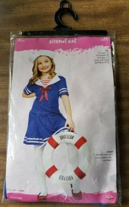 """Sea Sweetie"" Girls Halloween Costume Child's Medium 8-10 Ne"