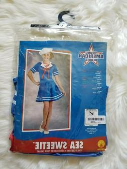 Sea Sweetie Kids Girl Sailor Deluxe Child Costume- Size Larg