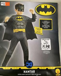 Size S 4/6 DC Justice League Batman Child Costume Muscle Che