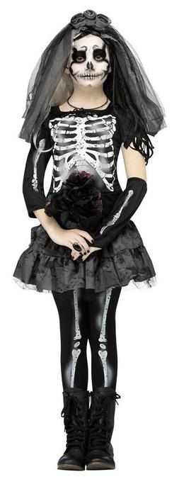 Skeleton Bride Child Costume by Fun World