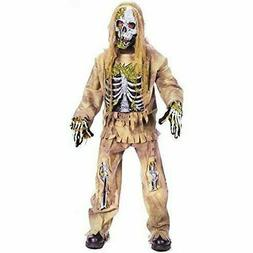 Fun World - Skeleton Zombie Child Costume for Halloween
