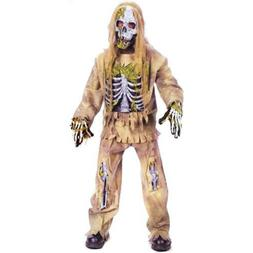 Fun World Skeleton Zombie Kids Child Halloween Costume | 591