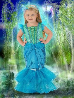 SOLD OUT JUST PRETEND Dress Up Mermaid Kids Girls 8 Boutique