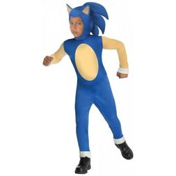 Sonic The Hedgehog Costume for Kids Video Game Halloween Fan