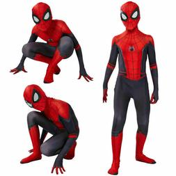 Spider-Man Far From Home Man Boys Kids Jumpsuits Zentai Cosp
