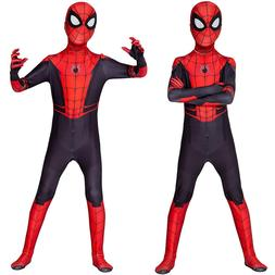 Spider Man Far From Home Peter Parker Spiderman Cosplay Cost