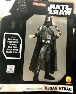 Star Wars Darth Vader child costume Size M Target Exclusive